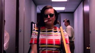 Peggy Olson walks into McCann Erickson like a badass