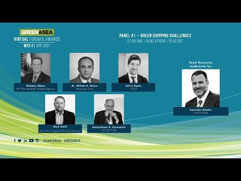 2021 GREEN4SEA Virtual Forum Panel 1: Green Shipping Challenges