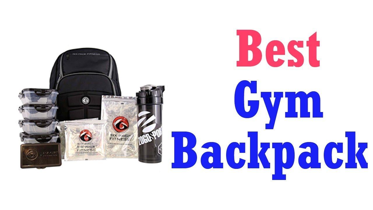 Best Gym Backpacks 2019 Youtube