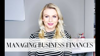 MANAGE BUSINESS FINANCES: CASH FLOW FORECAST + INCOME STATEMENT TUTORIAL (With Template)