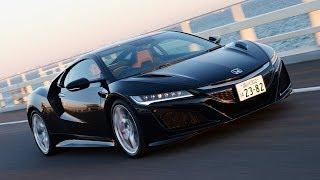 ホンダが誇るハイパフォーマンススポーツカーである新型NSXに試乗した。...