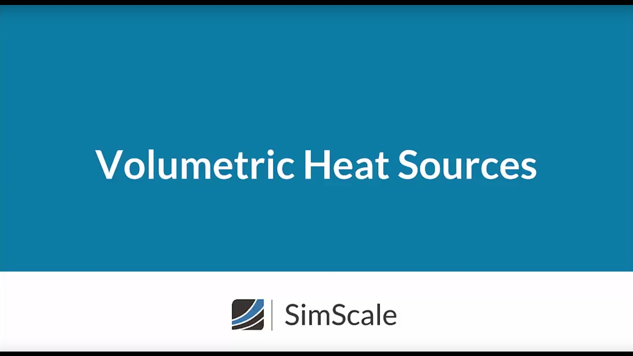 Volumetric Heat Sources in SimScale
