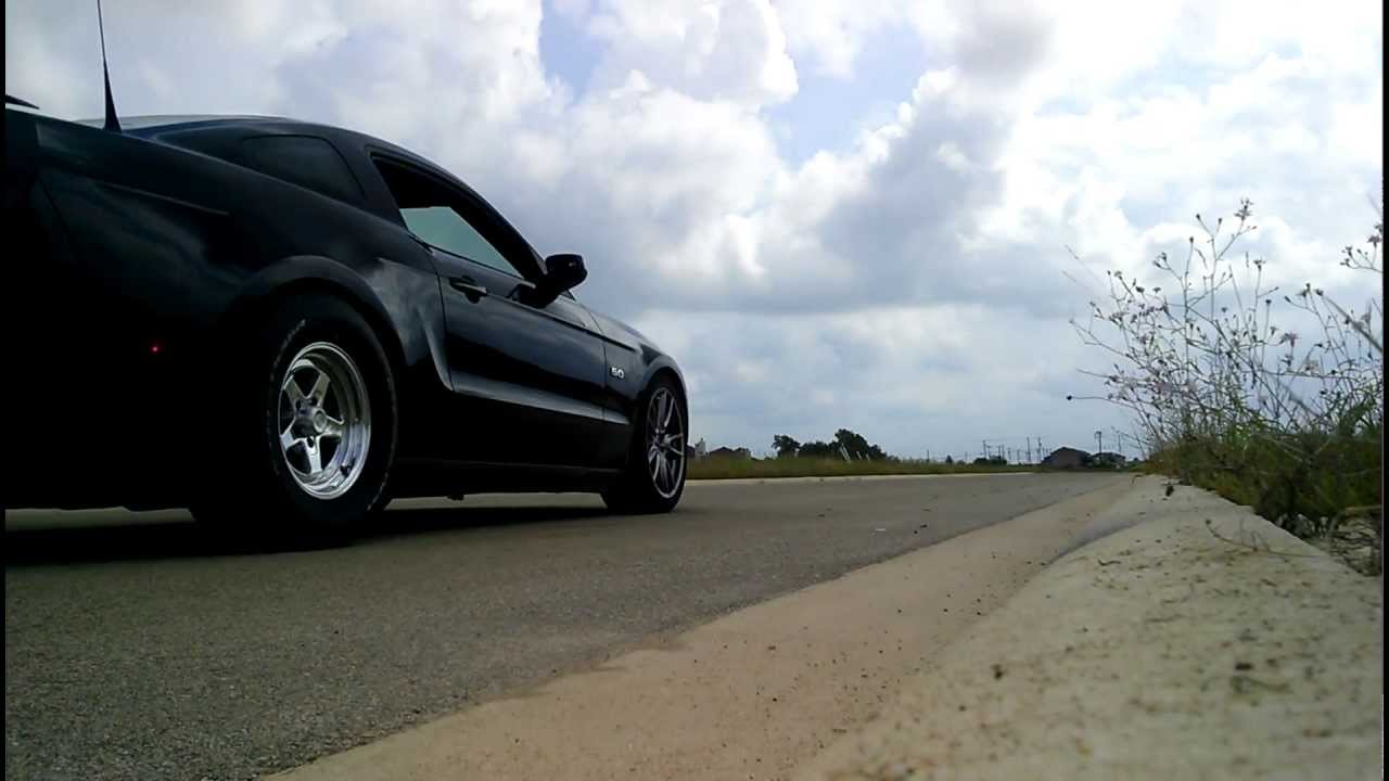 Mustang 5 0 Mild Street Launch With Nt555r Drag Radials
