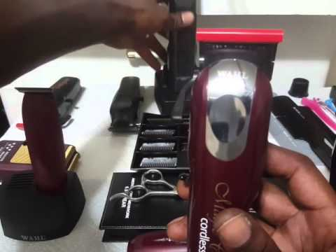 All cordless barber clippers  kit