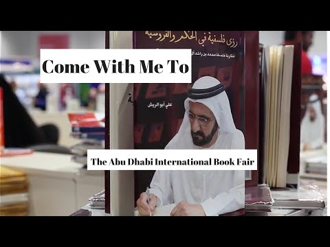Come With Me To - Abu Dhabi International Book Fair 2016 - Abu Dhabi VLOG l VLOGGER