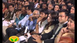 Speech By Soundarya Rajinikanth In Kochadaiyaan Audio Launch