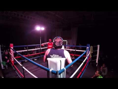 Ultra White Collar Boxing | Oxford | George Martin VS Steve Pickston