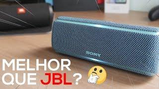 MELHOR QUE JBL? Caixa bluetooth com MUITO GRAVE! | Sony XB21 vale a pena?