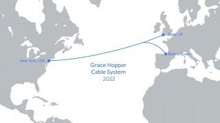 El cable submarino Grace Hopper unirá EEUU, Reino Unido y España