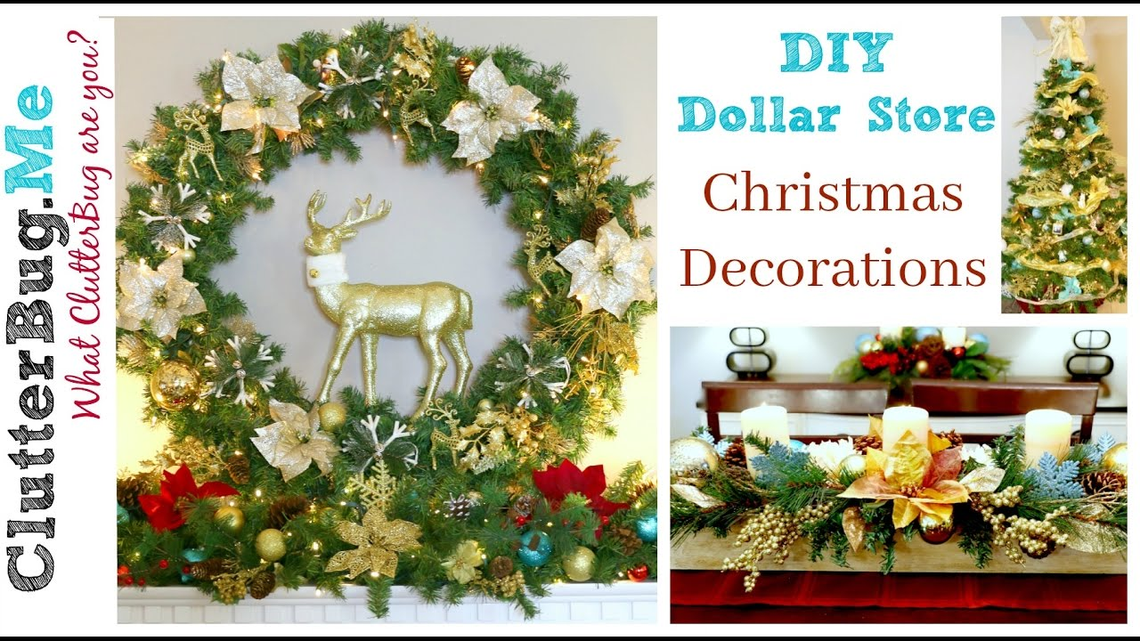 diy dollar tree christmas decor ideas for 2016 - Christmas Decor Without A Tree