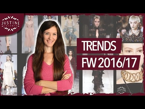 Fashion Trends Fall / Winter 2016-2017 | Fashion + Accessories + How to wear | Justine Leconte