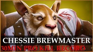 Chessie Brewmaster[Pro kill record] vs Fnatic @ Starladder