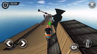Impossible Ramp Moto Bike Tricky Stunts #2 | Android Gameplay | Friction Games