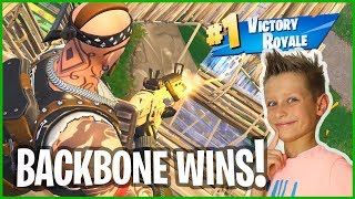 Backbone gets Victory Royale!
