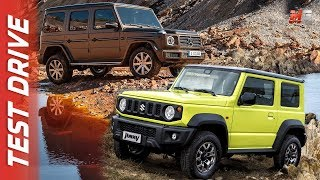 MERCEDES CLASSE G Vs SUZUKI JIMNY 2019 - FIRST TEST DRIVE