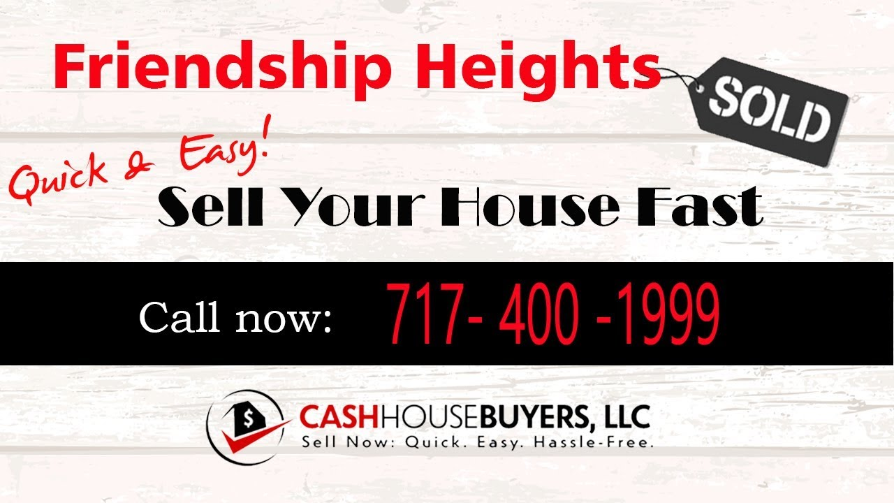 HOW IT WORKS We Buy Houses  Friendship Heights Washington DC | CALL 717 400 1999 | Sell Your House