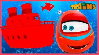 My Red Boat- My Magic Pet Train Videos For Kids