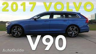 2017 Volvo V90 R-Design T6 AWD Review