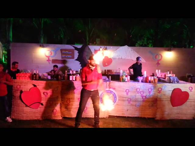 JSHM MOCKTAIL COUNTER AT Electronic Music Revolution VADODARA