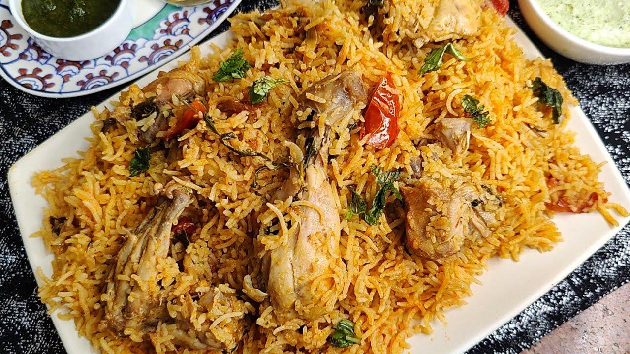 World Famous Chicken Dum Biryani Jo Bohot Asaan Hai Banani | Hyderabadi Chicken Biryani Recipe