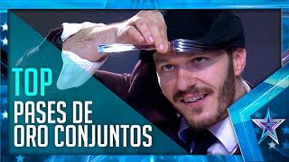 Los MEJORES PASES DORADOS que el jurado ha dado conjuntamente | Got Talent España