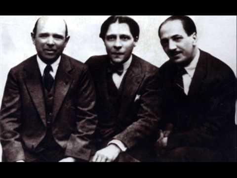 Schubert Trio B flat Op 99 Cortot Thibaud Casals Rec 1926
