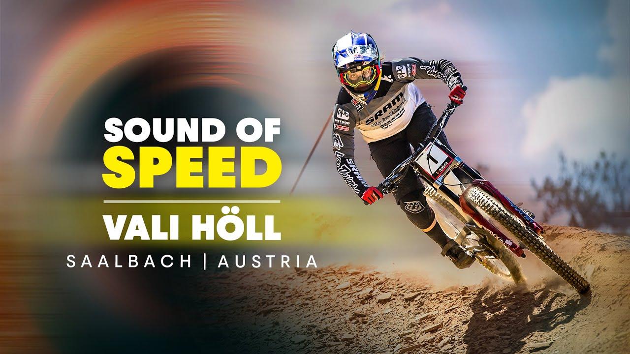 Raw MTB: Vali Höll Smashing Her Home Trails in Saalbach Hinterglemm | Sound Of Speed