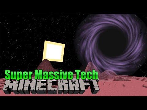 Sterne & schwarze Löcher! - Super Massive Tech Minecraft Mod Review