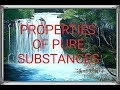 9) Properties of pure substances ( in Hindi)