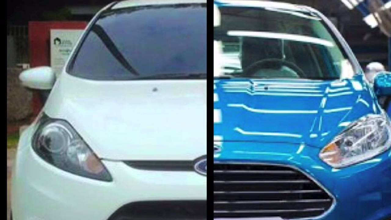 2011 Ford Fiesta >> Ford Fiesta MK7 to MK7.5 Conversion - YouTube