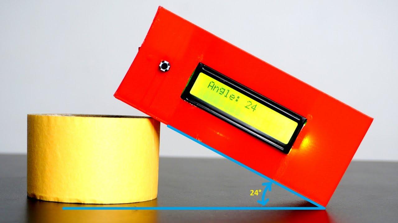 Angle Measure Device based on Arduino and MPU6050 | Arduino Engineering Project | Indian Lifehacker