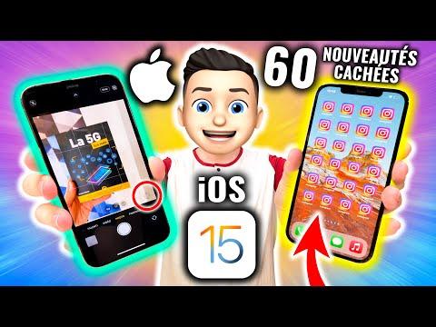iOS 15 : 60 Fonctions Cachées et Grandes Nouveautés !