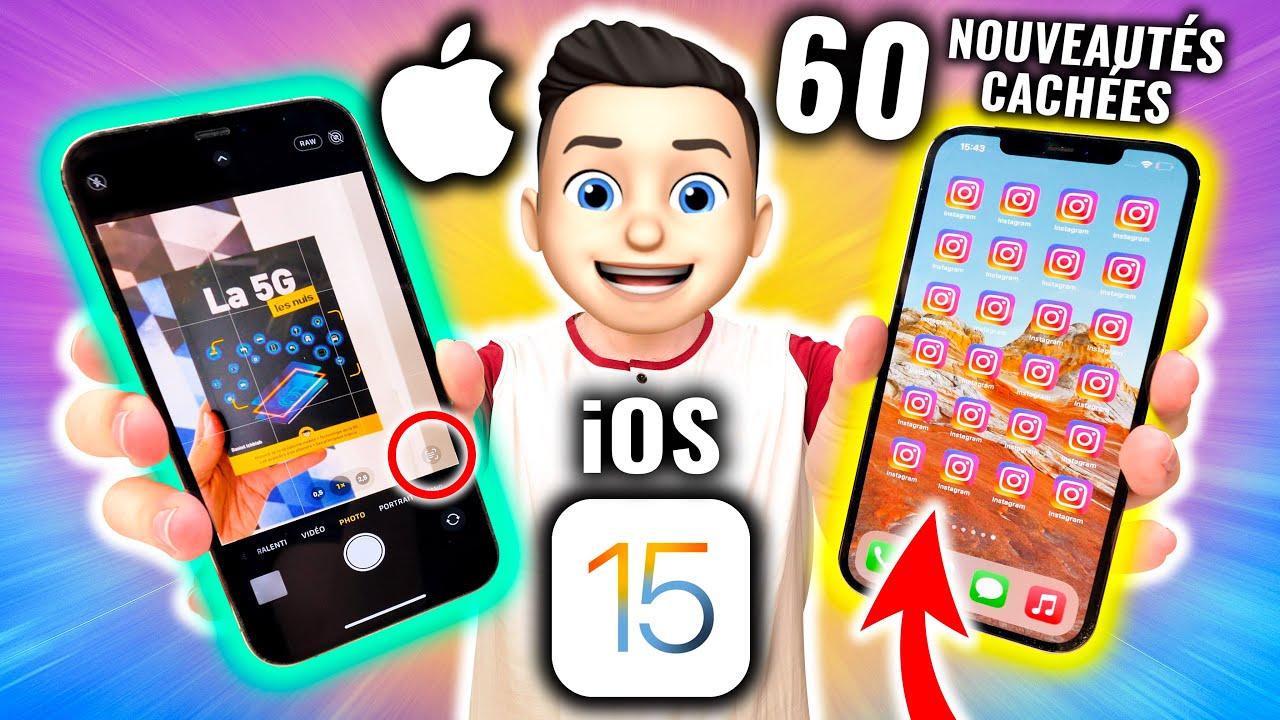 Download iOS 15 : 60 Fonctions Cachées et Grandes Nouveautés !