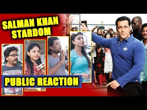Salman Khan's STARDOM | PUBLIC REACTION | Has Salman Achieved Stardom Of Amitabh & Rajesh Khanna