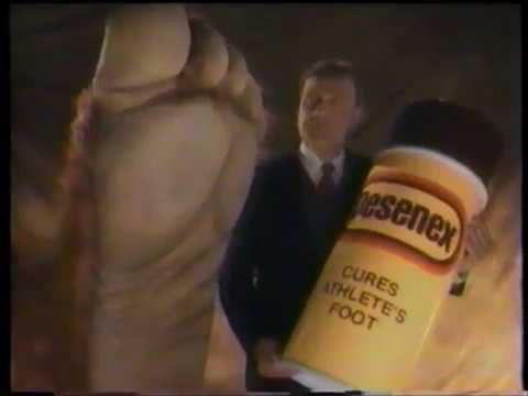 Desenex  – Athletes Foot Cure Spray Can Commercial  – Big Foot (1989)
