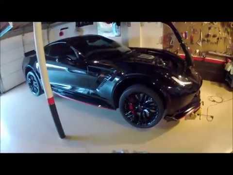 c7 corvette z06 grand sport stingray DIY HOW TO DRY SUMP OIL CHANGE
