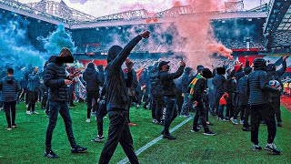 Manchester United Fans Storm Old Trafford - Glazers Out Protest