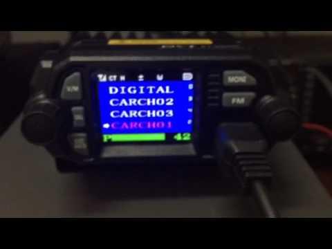 KT8900D test radio