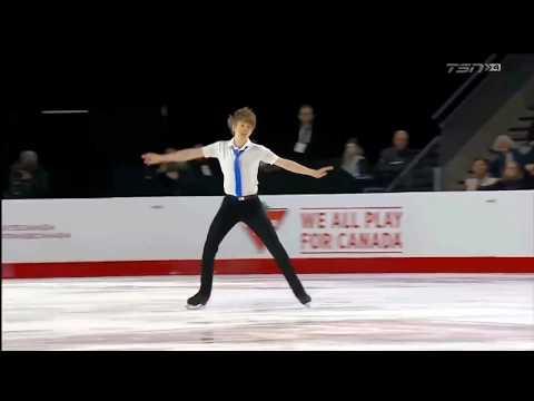 17 Kevin REYNOLDS  Canadian Nationals 2018  Mens SP