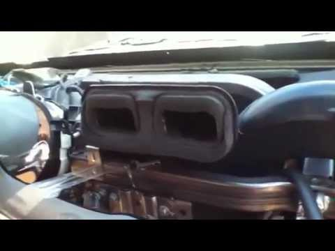 Chevy Trailblazer (PROBLEM) with ac on hot air on passenger side, How to fix it  YouTube