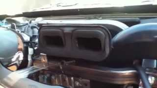 Chevy Trailblazer (PROBLEM) with ac on hot air on passenger side, How to  fix it.