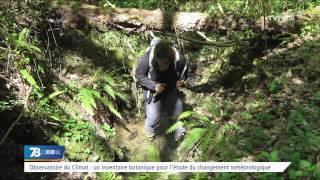 Observatoire du climat :  un inventaire botanique pour l'étude du changement météorologique