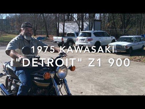 1975 Detroit Z1 900 Kawasaki Restoration: Full Story