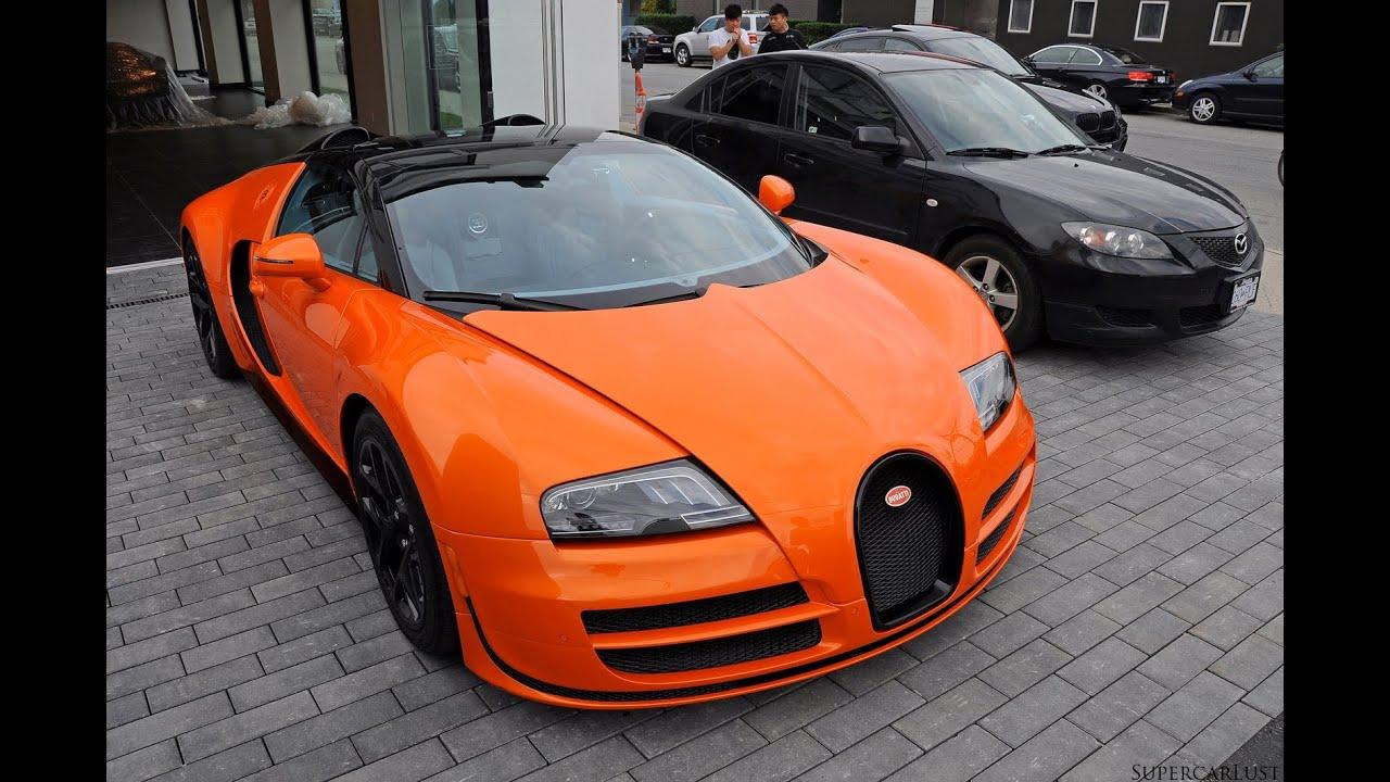 bugatti veyron grand sport vitesse in vancouver youtube. Black Bedroom Furniture Sets. Home Design Ideas