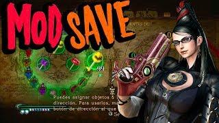 Bayonetta Mod Save | Xbox 360 Tutorial | Armas, Objetos, Pociones, Halos, Logros