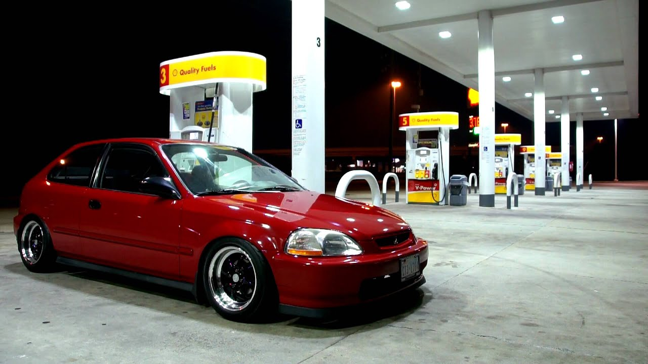 CHILDSTARu0027S EK CIVIC HATCH   YouTube