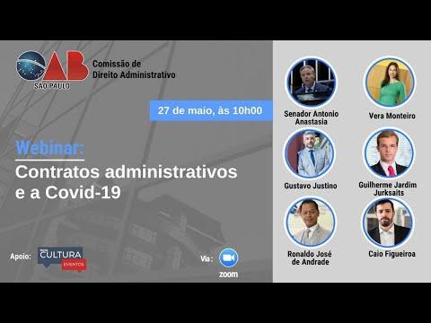 Webinar Contratos Administrativos e a Covid 19
