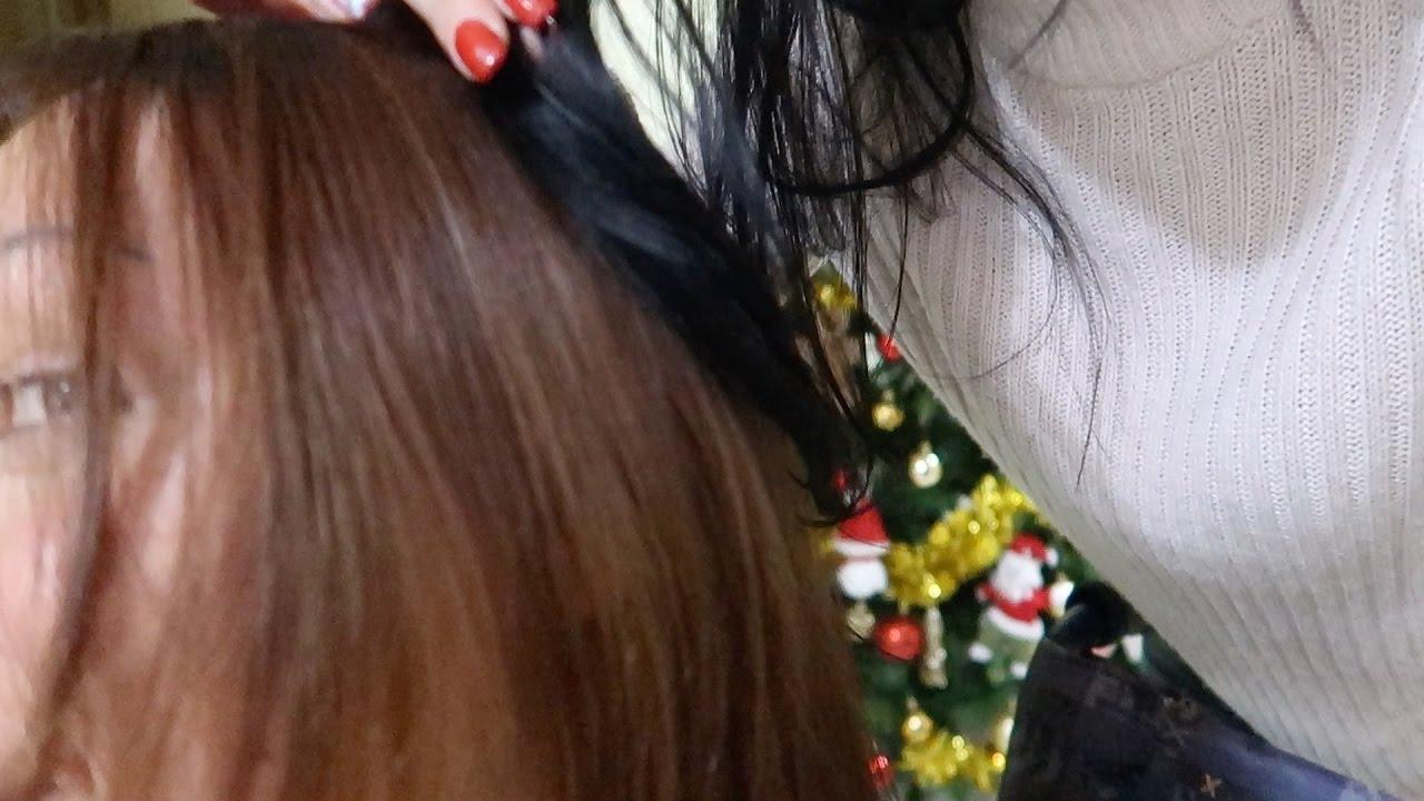 Da capelli neri a capelli biondi