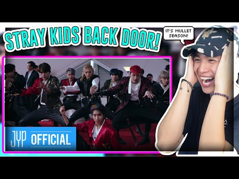 """FIRST TIME REACTING TO Stray Kids """"Back Door"""" M/V![REACTION]"""