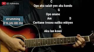 Download lagu Kunci Gitar TATU - DIDI KEMPOT | Chord Gitar Mudah